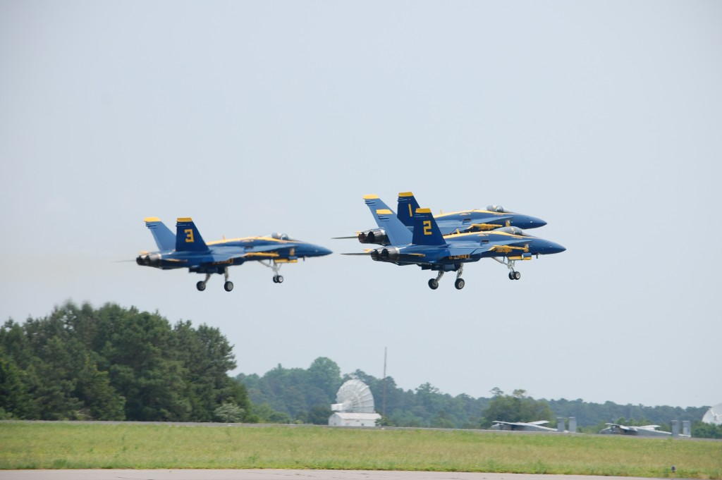 WBOC Talks to Blue Angels Pilots & F-22 Raptor Pilots About the Ocean City Air Show