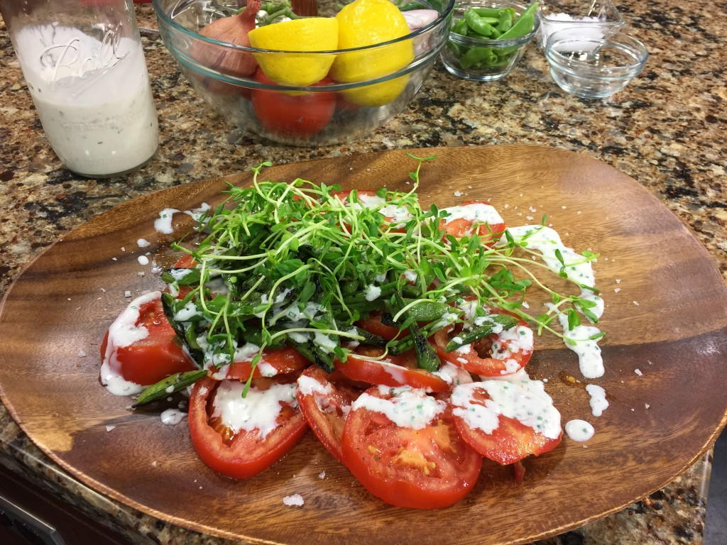 Summer Tomato Salad with Chef Douglas Ruley of SoDel Concepts