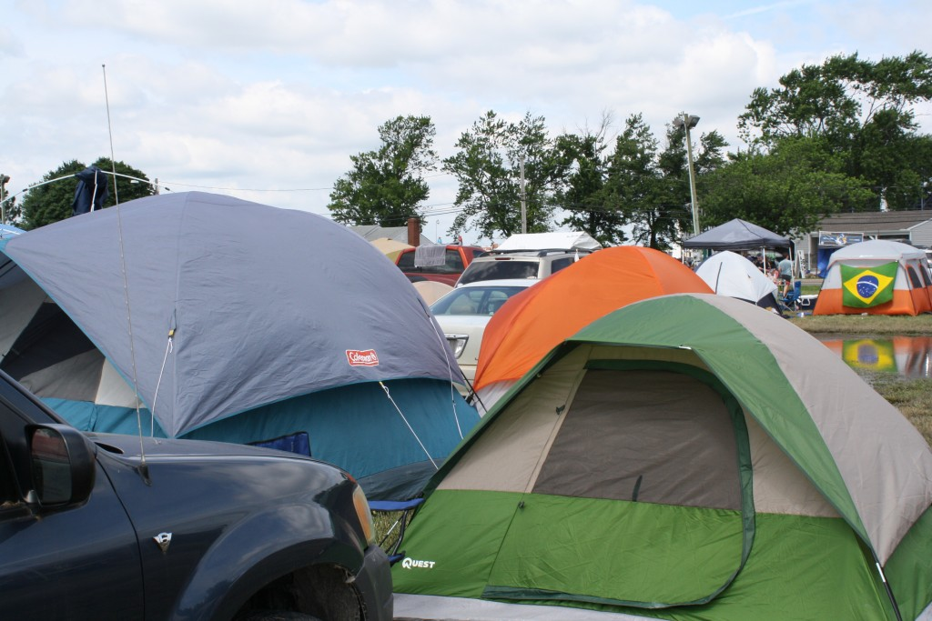 Camping at Firefly & Festival Fun