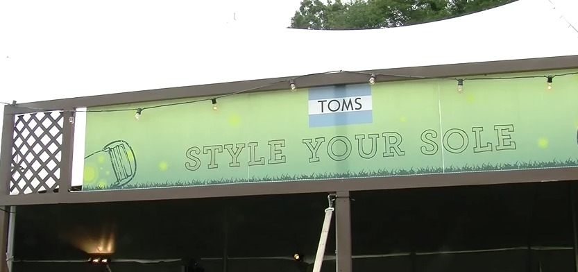 "Firefly Music Festival: TOMS ""Style Your Sole"""