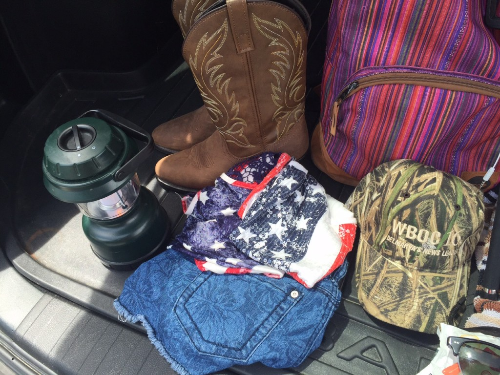 Packing For Big Barrel Country Music Festival