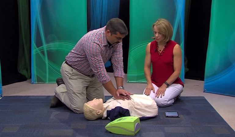 Lifesaving CPR & CPR Demonstration – Thursday, July 16, 2015