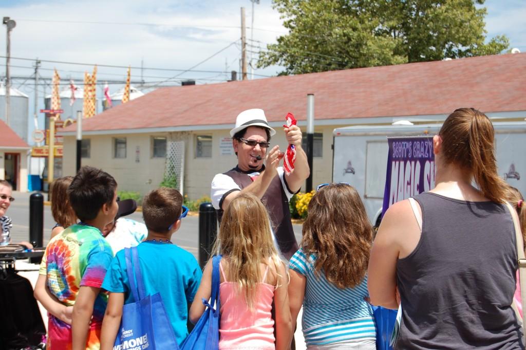 Scott's Crazy Comedy Magic Show – DE State Fair 2015