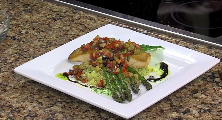 Pan Seared Mahi Mahi with Chef Phillip Hitch from Market Street Inn – Tuesday, May 19, 2015