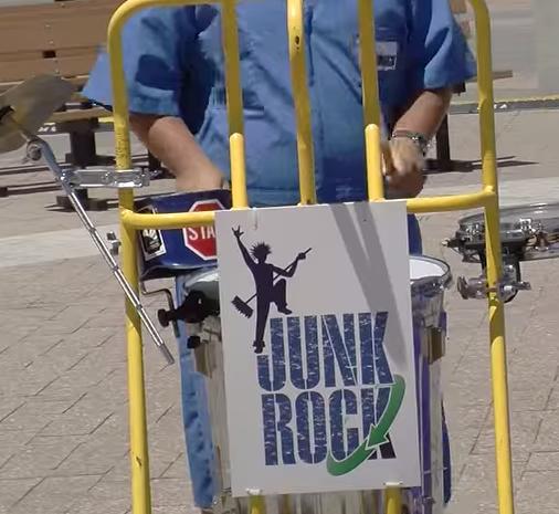 Dagsboro Boys and Girls Club Visit the Delaware State Fair & Enjoy 'Junk Rock'