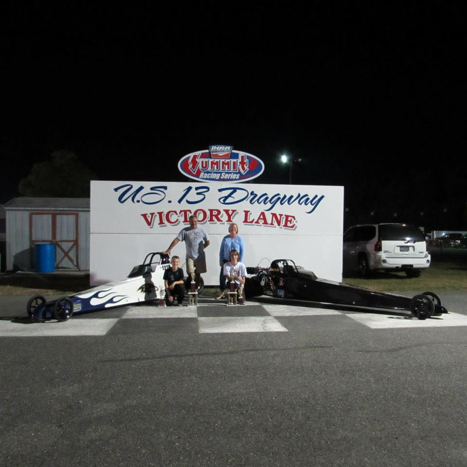 Drag Racing: Bowie Brothers Take Home Same Day Wins at U.S. 13 Dragway