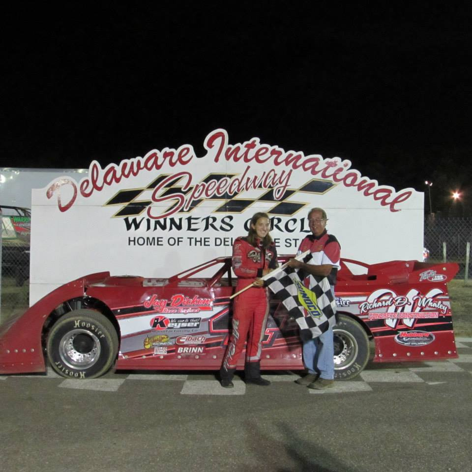Dirt Track: Whaley Wins Super Late Model – Delaware International Speedway