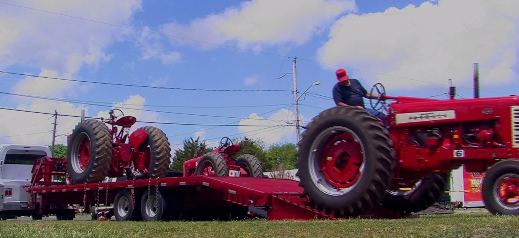 Travels With Charlie: Westside Historical Society and Tractor Pulls with Charlie Paparella