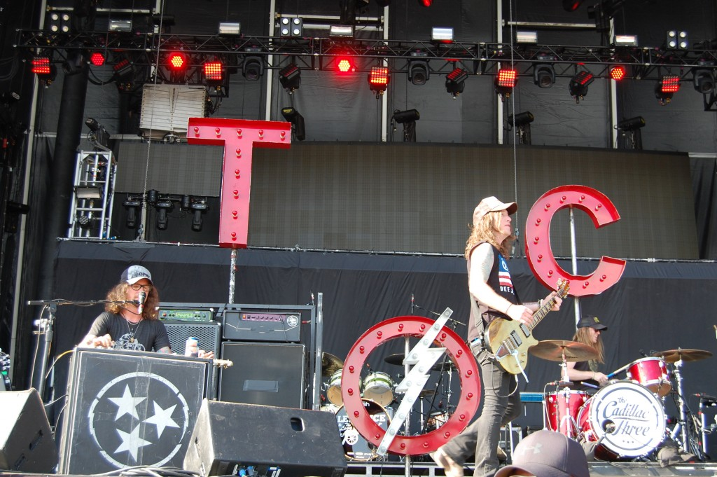The Cadillac Three Rocked the Main Stage at Delaware Junction Festival