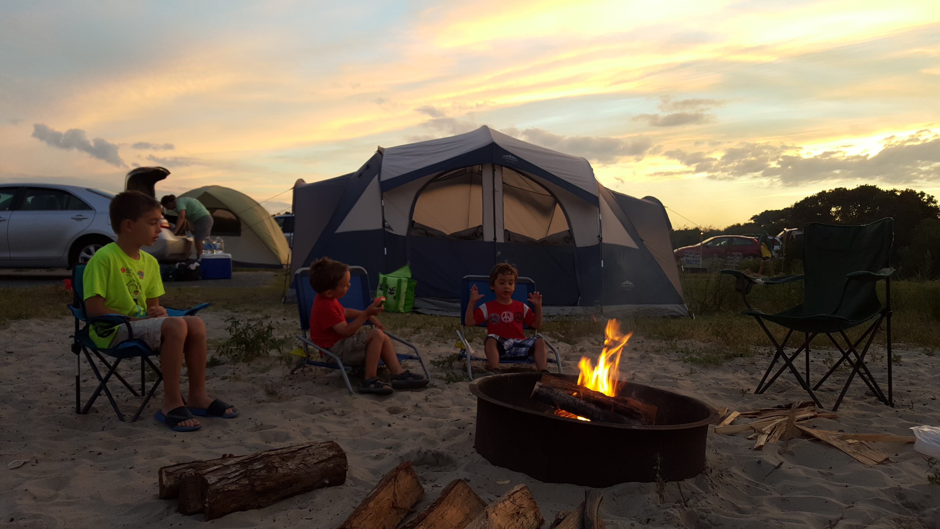 A Night of Camping
