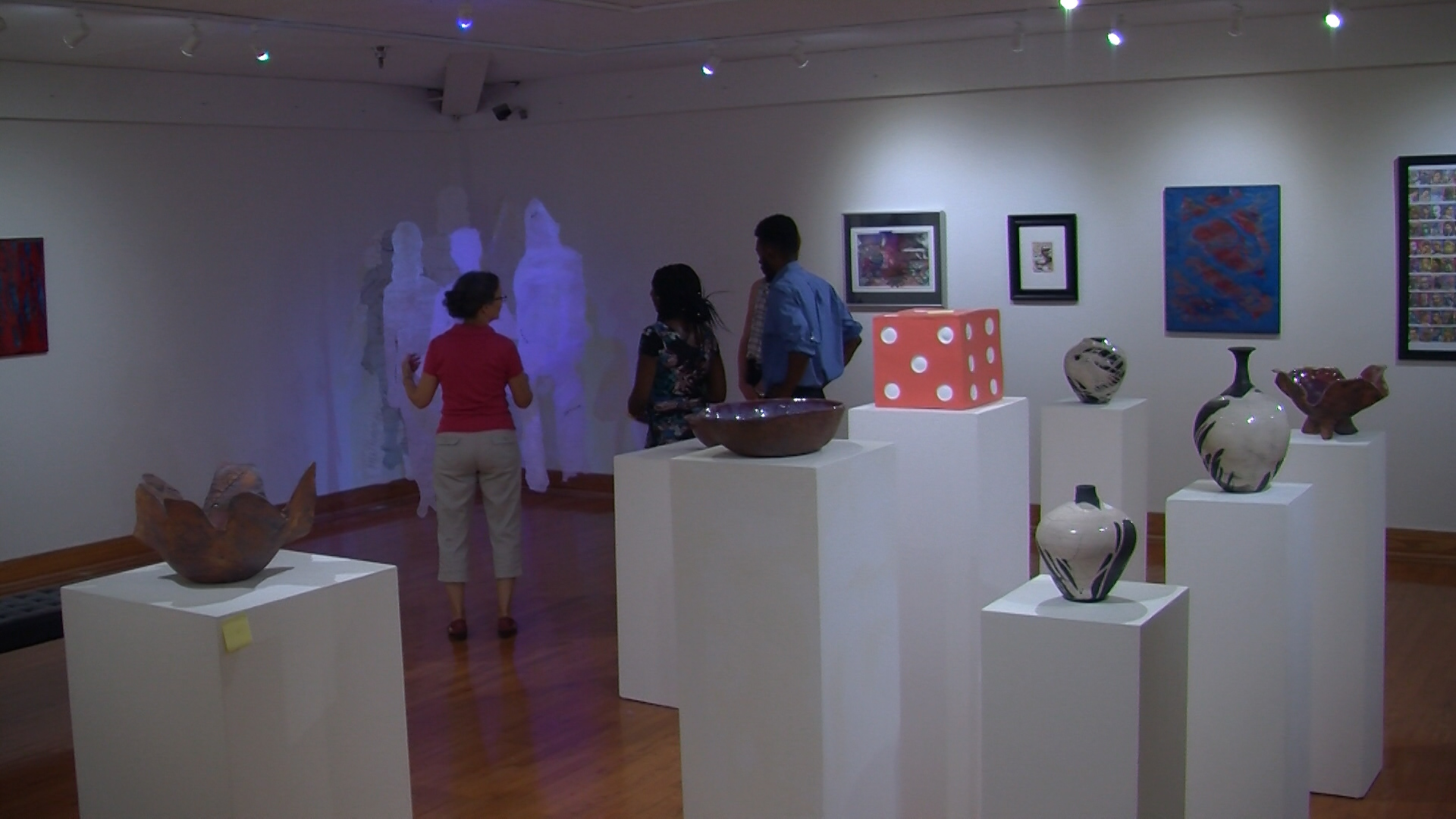 Travels With Charlie: UMES Hosts Faculty Art Show