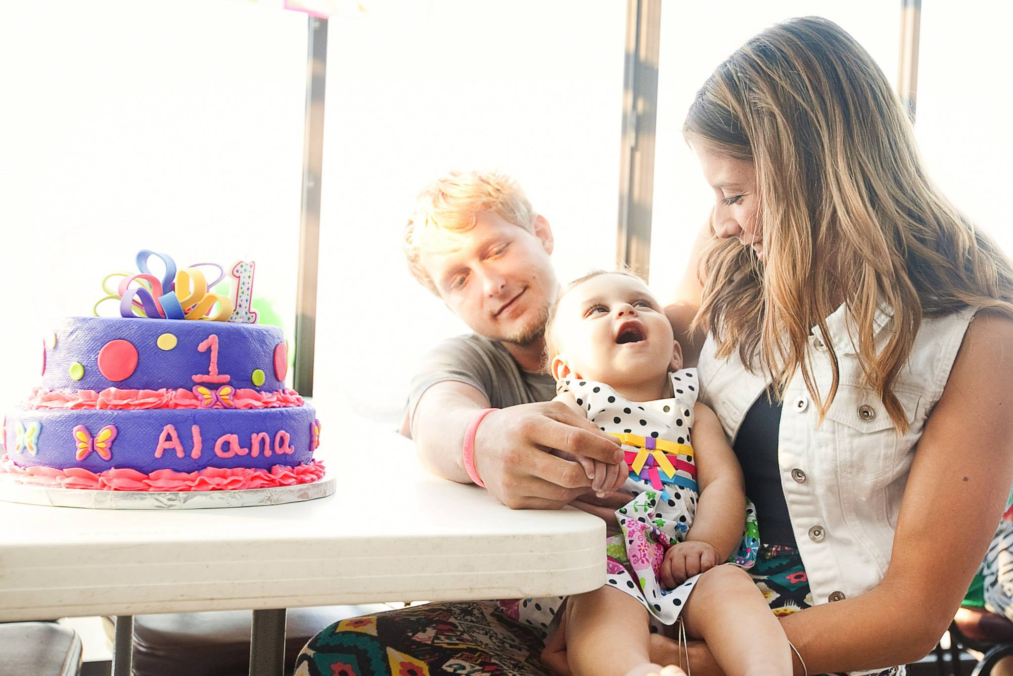 Happy Birthday, Baby Alana!