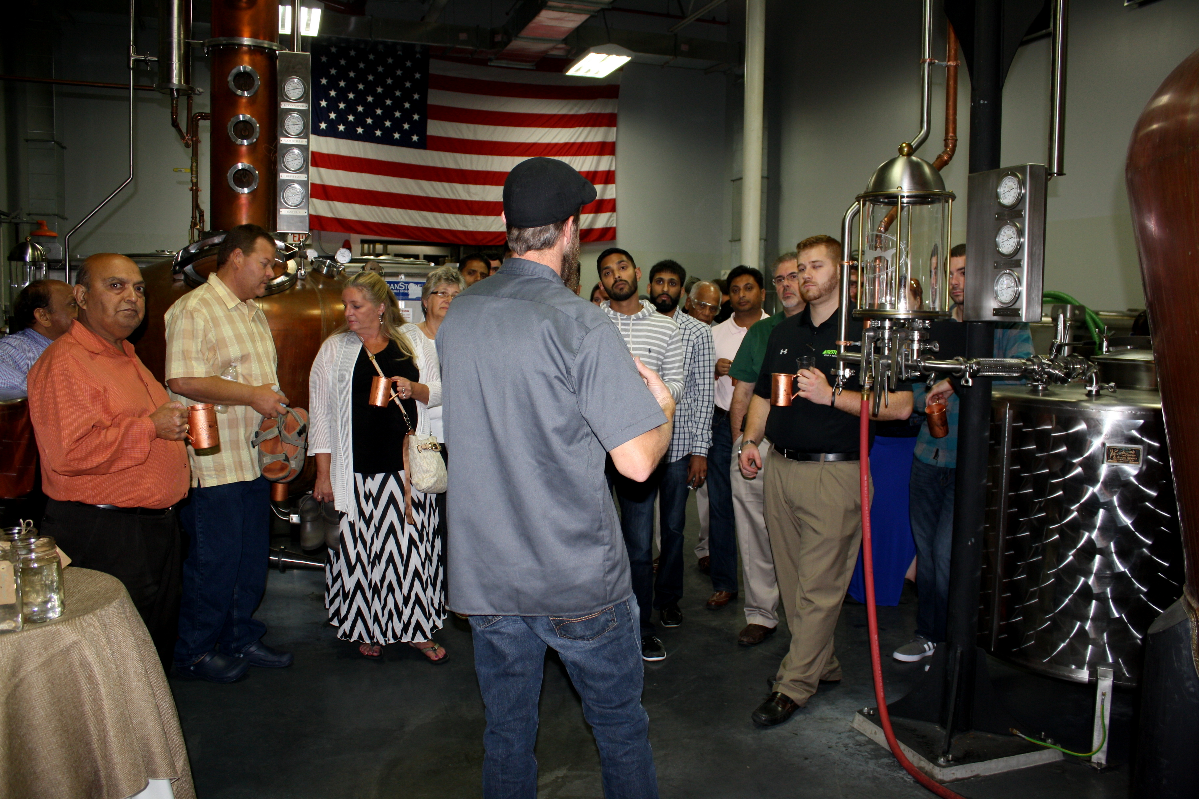 Dogfish Head Distilling Co. Holds First Ever Spirits Launch