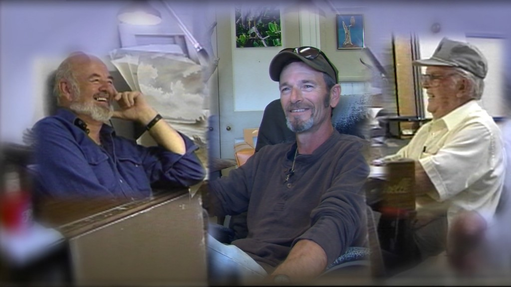 Travels With Charlie: Father-Son Artist Duo in the Crockett Family from Virginia