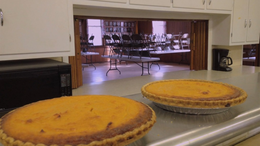Travels With Charlie: Pies from Rockawalkin' Community Hall