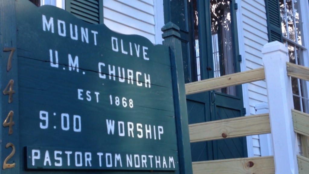 Travels With Charlie: Homecoming at Mt. Olive Church