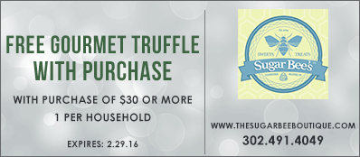 Sugar Bee's Boutique Coupon: Free Gourmet Truffle With Purchase Of $30 Or More