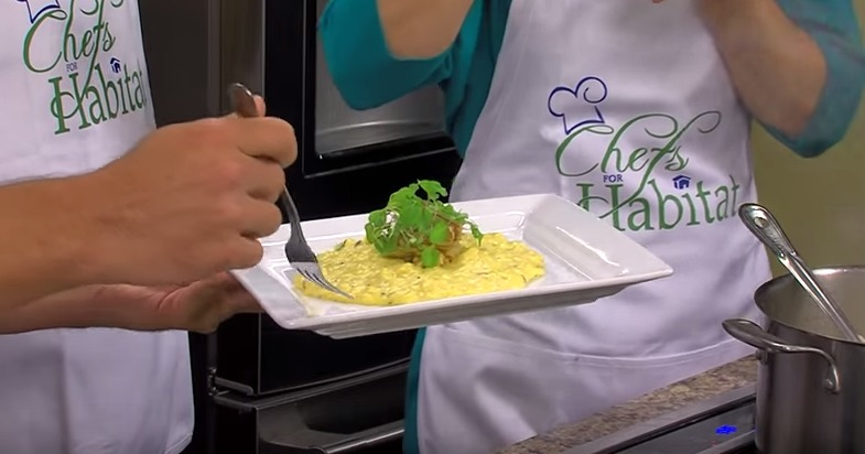 Autumn Squash Risotto with Chef David Wells for Chefs for Habitat