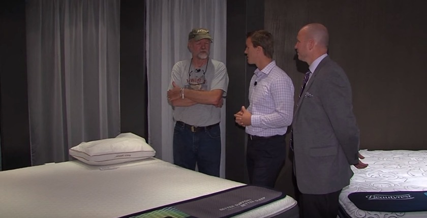 Put It To The Test: FurnitureLand Powerbase Mattress – Wednesday, Nov. 4, 2015