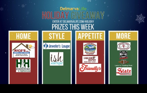 Holiday Giveaway Prizing Preview: Week of Nov. 9 – 13