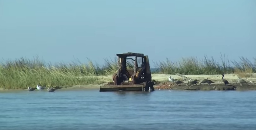 Bill Mich Talks About Delmarva Islands Being Washed Away – Friday, Nov. 6, 2015