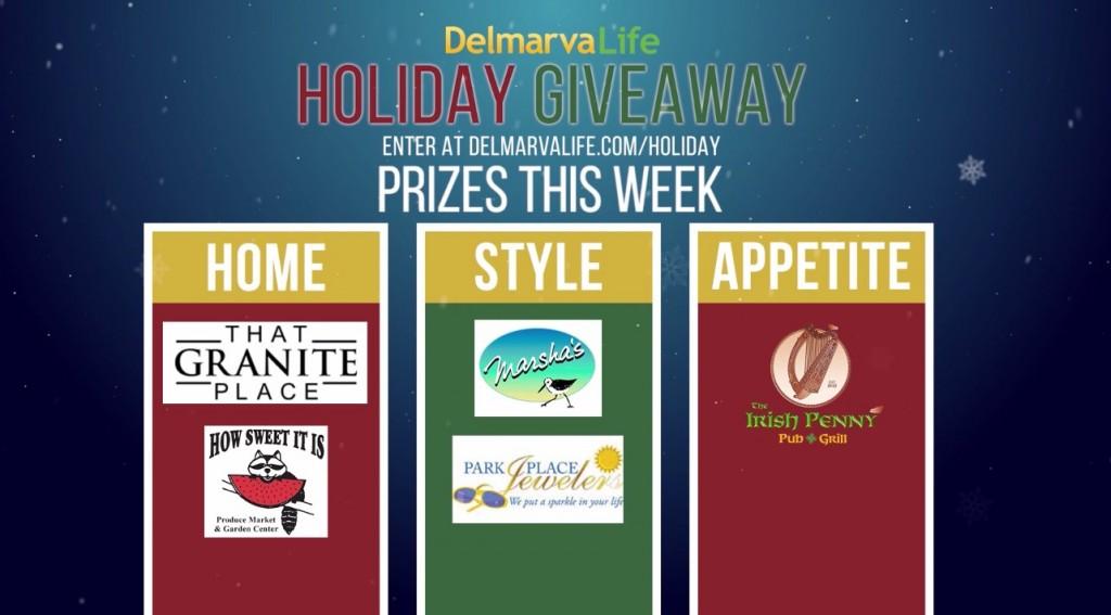 Holiday Giveaway Prizing Preview: Week of Nov. 23 & 24