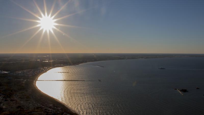 Rehoboth Beach, DE Aerial Photography – WBOC Chopper 16
