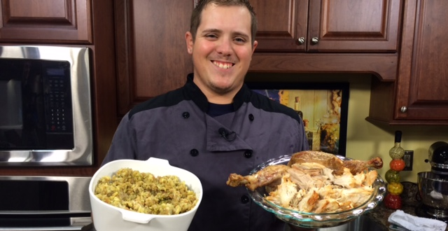 Fried Stuffing Bites & Two-Time Turkey Sandwiches from Thanksgiving Left-overs with Chef Anthony Zarrello