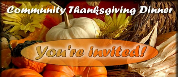 Grace United Methodist Church Welcomes All to Thanksgiving Dinner