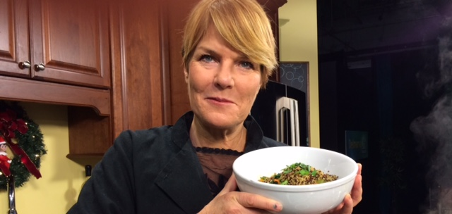 A Delicious Low-Cost, High-Protein Soup with Chef Gretchen Hanson of Hobo's Restaurant & Bar