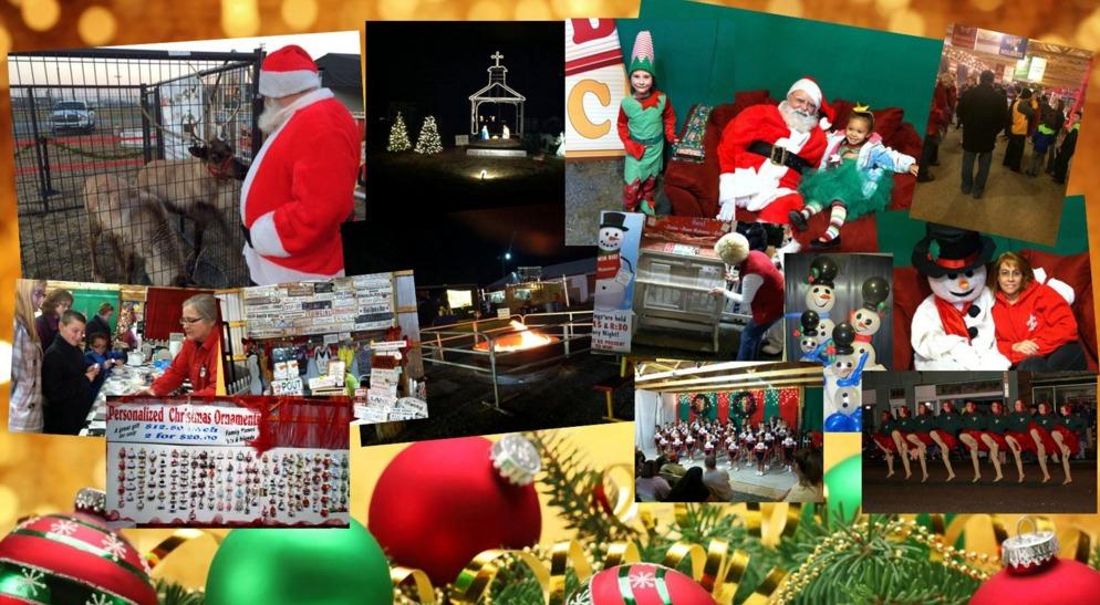 Decorating Delmarva HolidayFest at Delaware International Speedway