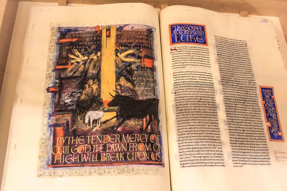 St. John's Bible Exhibit on Display in Dover