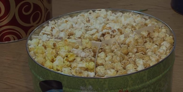"""A Gift that """"Pops"""" this Holiday Season with Fisher's Popcorn – Tuesday, Dec. 1, 2015"""
