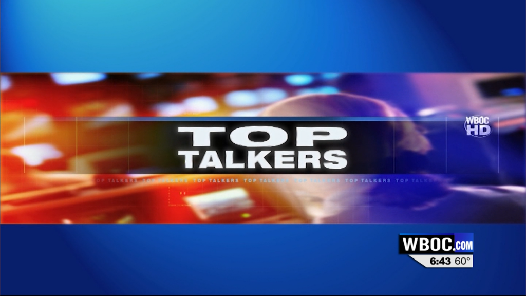 WBOC News This Morning Top Talkers for Dec. 17
