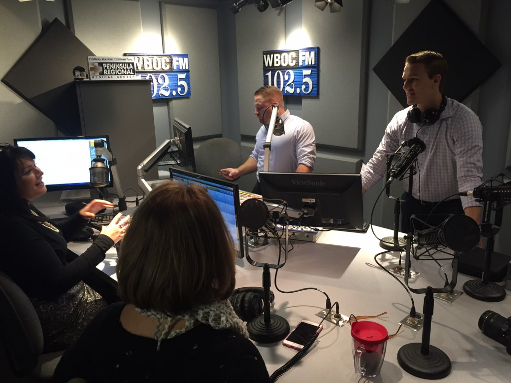 DelmarvaLife's Lisa & Sean Join Sarah & Corey on WBOC 102.5 Morning Show