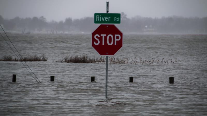River Rd is now a river