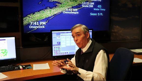 WBOC Chief Meteorologist Dan Satterfield Talks Tides