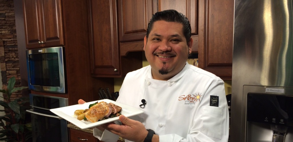 Pan-Seared Duck Breast with Chef Arturo Suazo of Sobo's