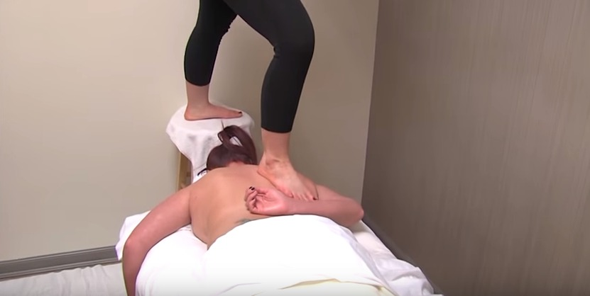 Massage Therapy Called 'Ashiatsu' – About Faces Day Spa & Salon