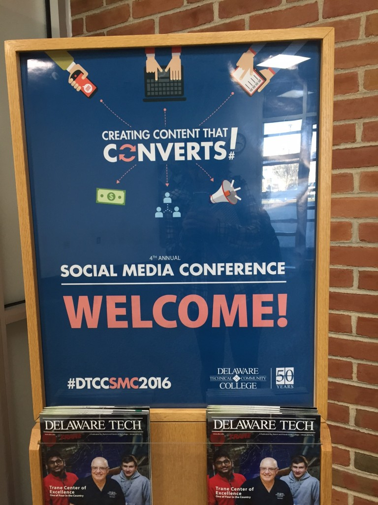 Delaware Tech Attracts Students, Local Businesses for Social Media Conference