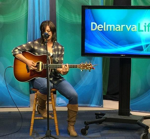 Melissa Alesi Performs on the DelmarvaLife Stage
