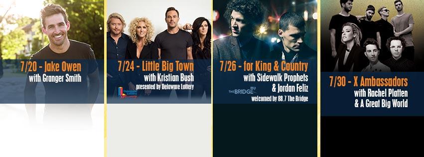 Delaware State Fair Announces its 2016 Summer Entertainment Lineup