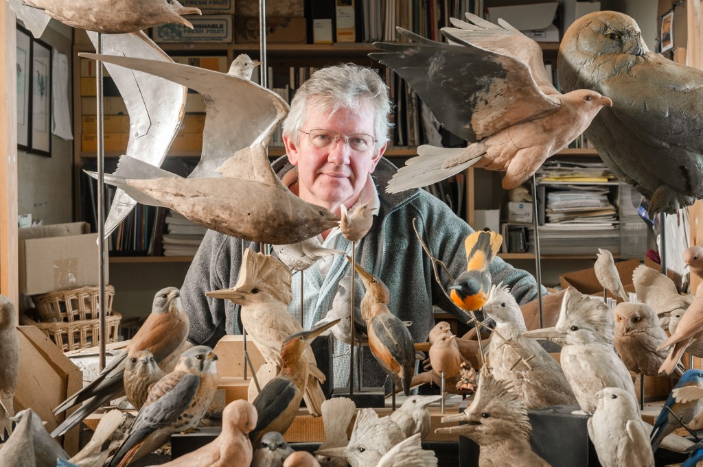 The Ward Museum Presents Best in World Carver & Sculptor Larry Barth on March 11