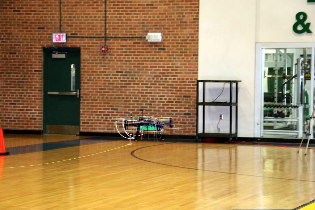 Delaware Tech Owens Campus Hosts Live Indoor Drone Flight Demonstrations