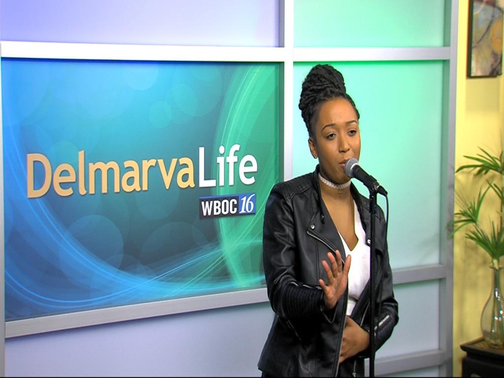 Jada Lee Performs on the DelmarvaLife Stage