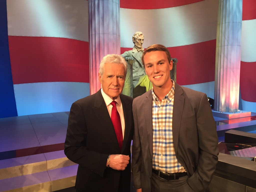 Sean Visits Washington, D.C. for the Jeopardy! Teen Tournament Taping