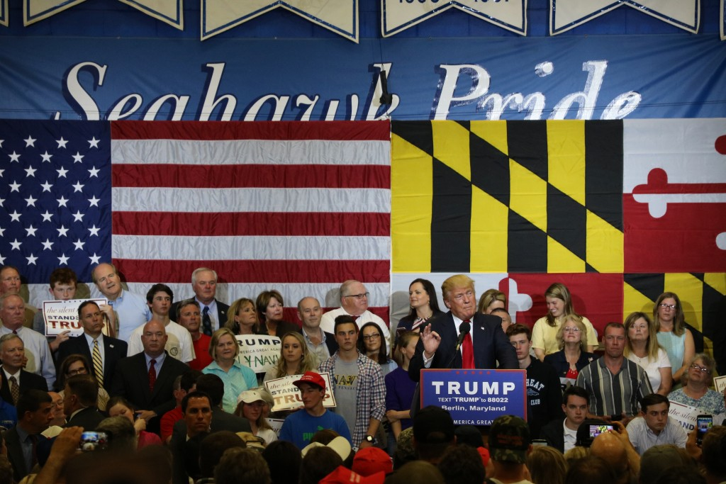 Donald Trump Speaks at Stephen Decatur High School (Full Speech)