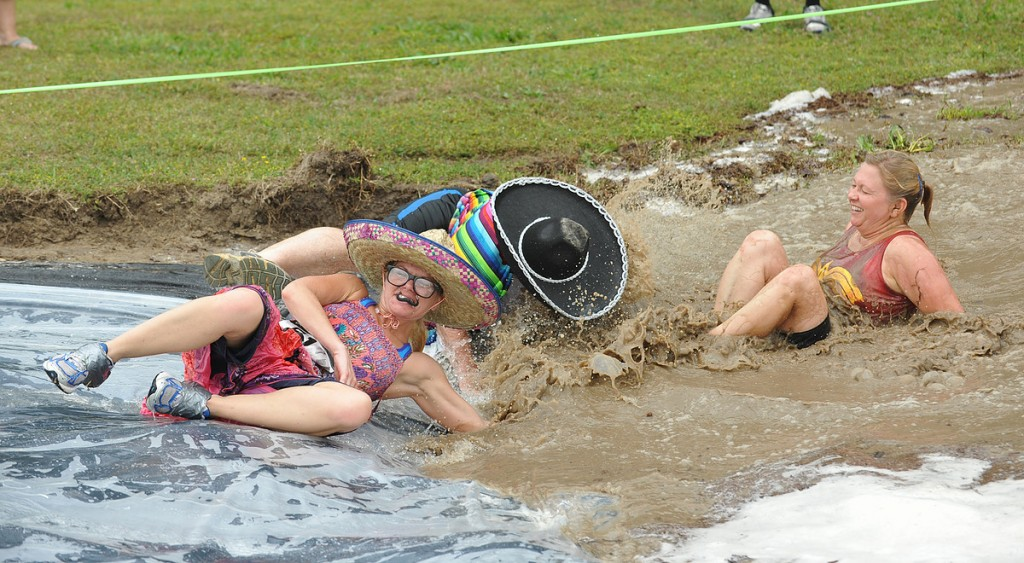 The Lower Shore YMCA Holds the Eastern Shore's Dirtiest 5K in Pocomoke, Md.