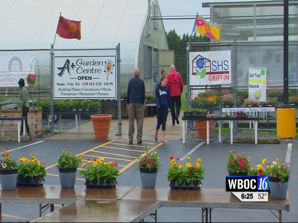 Travels With Charlie: A+ Garden Center at Parkside High