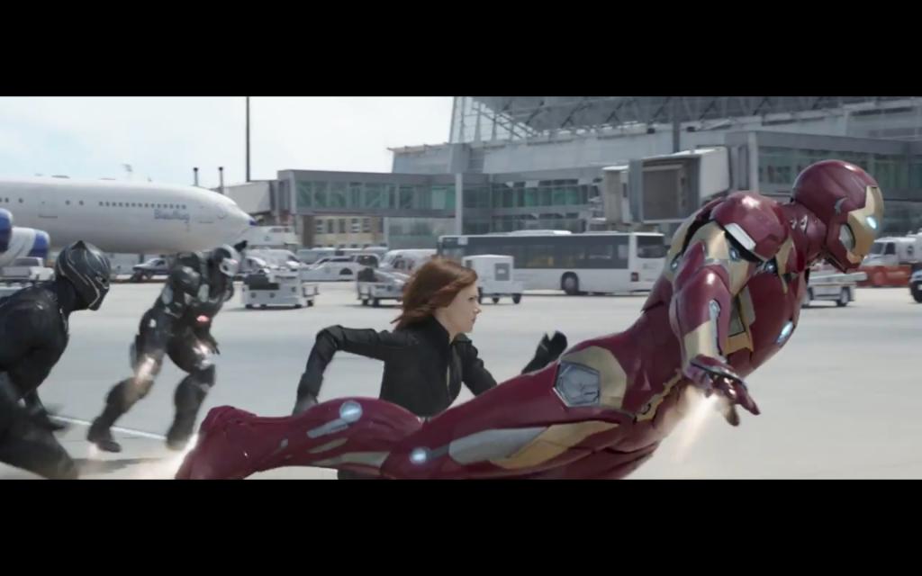 Iron Man's team